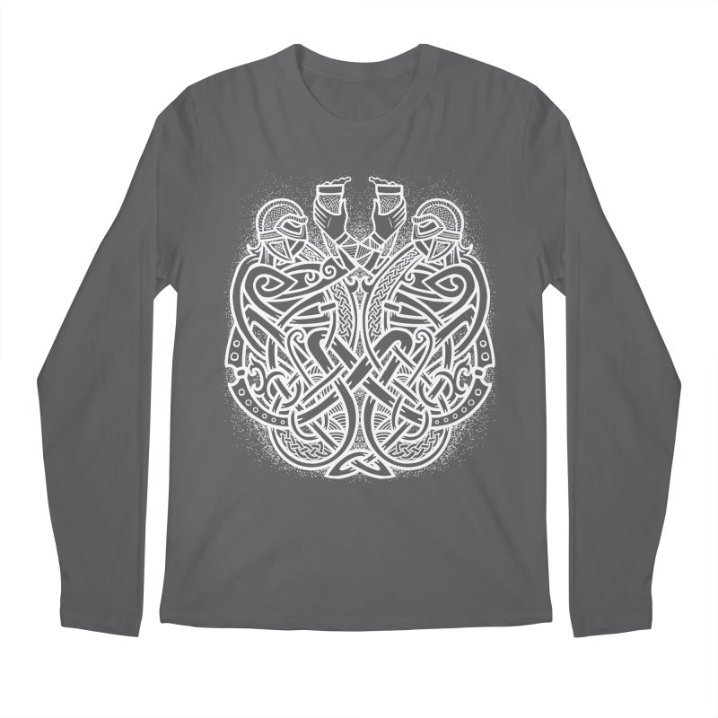 Drink to the Gods Men's Longsleeve T-Shirt by Celtic Hammer Club