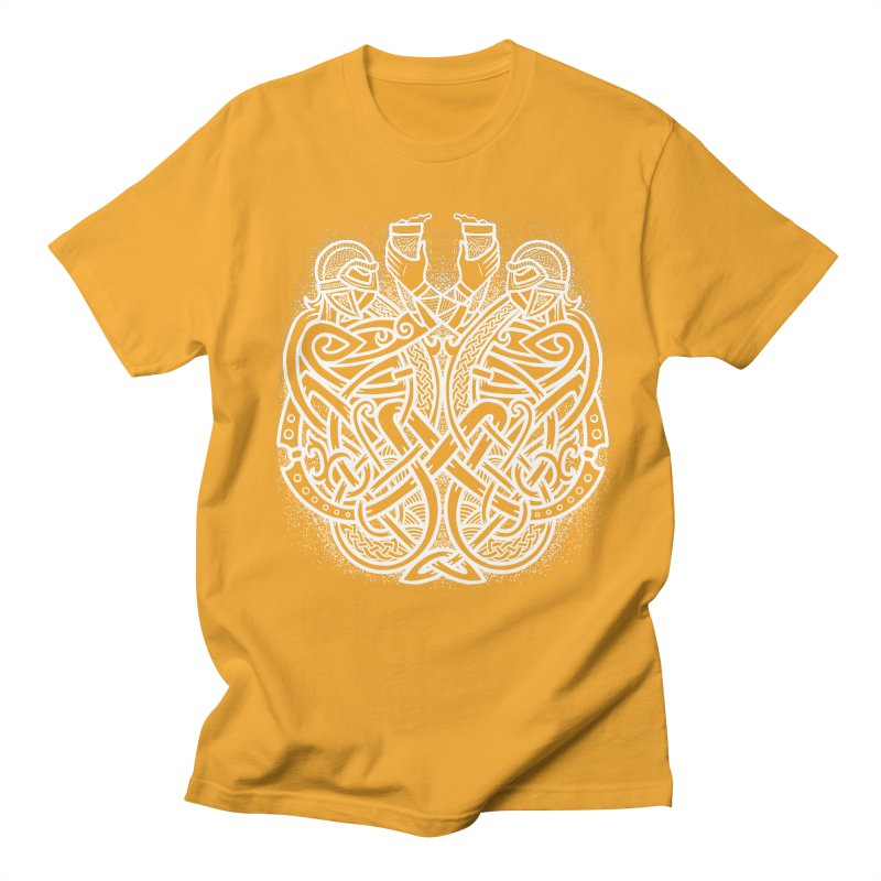 Drink to the Gods Men's T-Shirt by Celtic Hammer Club