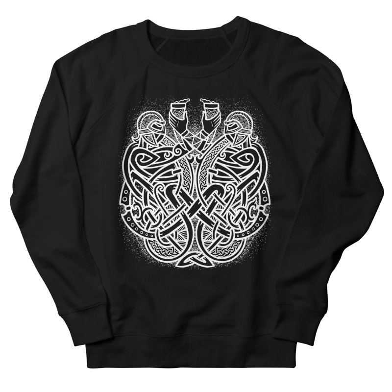 Drink to the Gods Men's French Terry Sweatshirt by Celtic Hammer Club