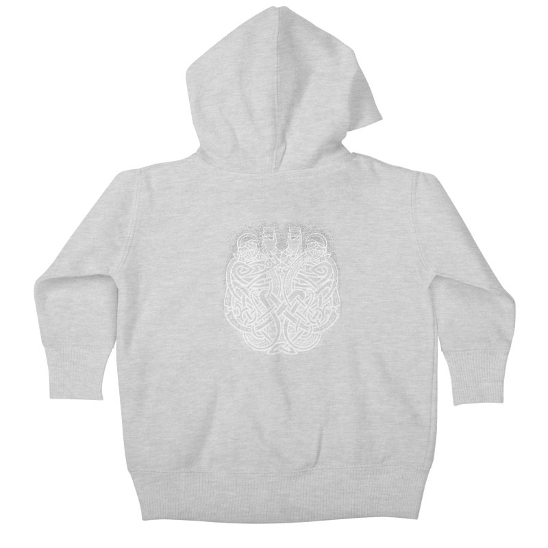 Drink to the Gods Kids Baby Zip-Up Hoody by Celtic Hammer Club