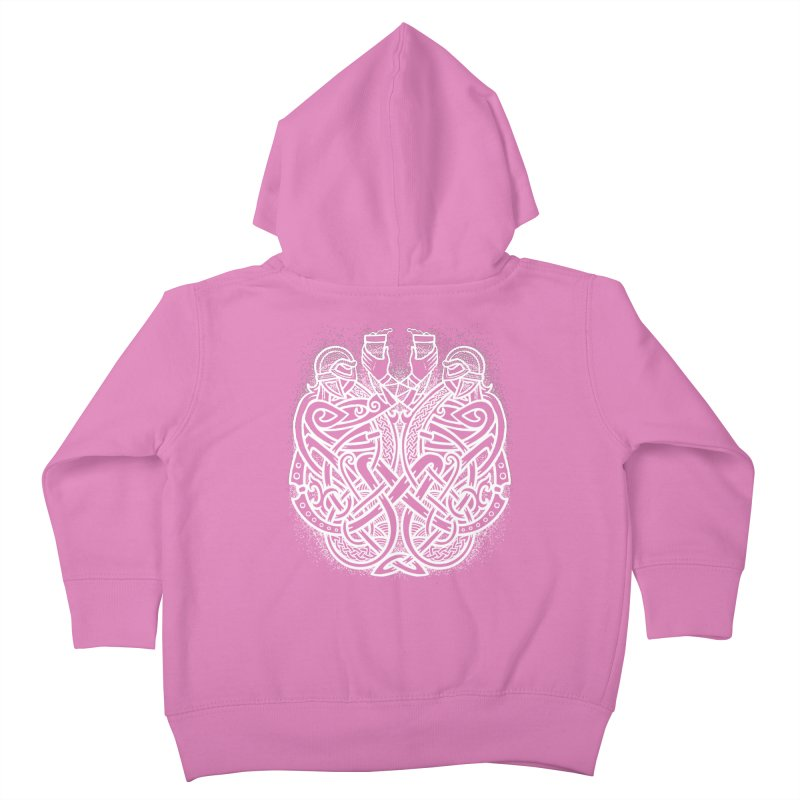 Drink to the Gods Kids Toddler Zip-Up Hoody by Celtic Hammer Club