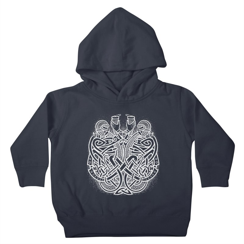 Drink to the Gods Kids Toddler Pullover Hoody by Celtic Hammer Club