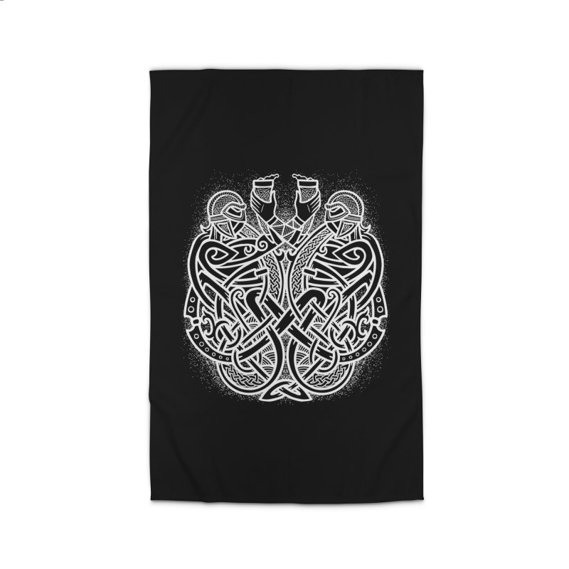Drink to the Gods Home Rug by Celtic Hammer Club