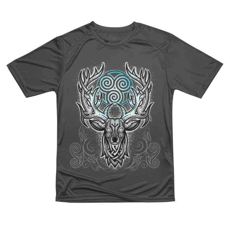 Legend of the White Stag Women's Performance Unisex T-Shirt by Celtic Hammer Club