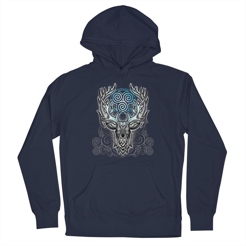 Legend of the White Stag Men's Pullover Hoody by Celtic Hammer Club