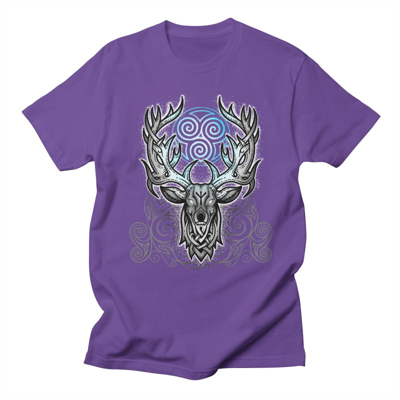 Legend of the White Stag Men's T-Shirt by Celtic Hammer Club