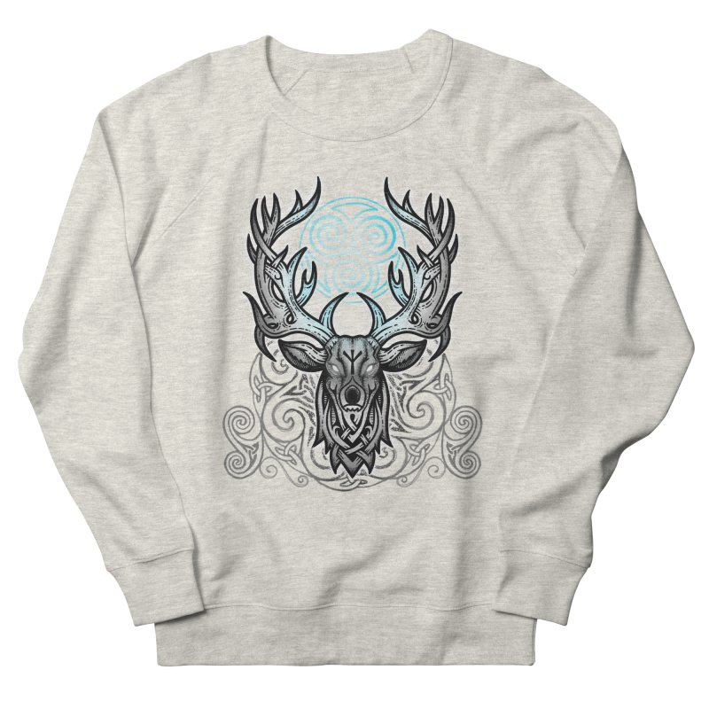 Legend of the White Stag Women's French Terry Sweatshirt by Celtic Hammer Club