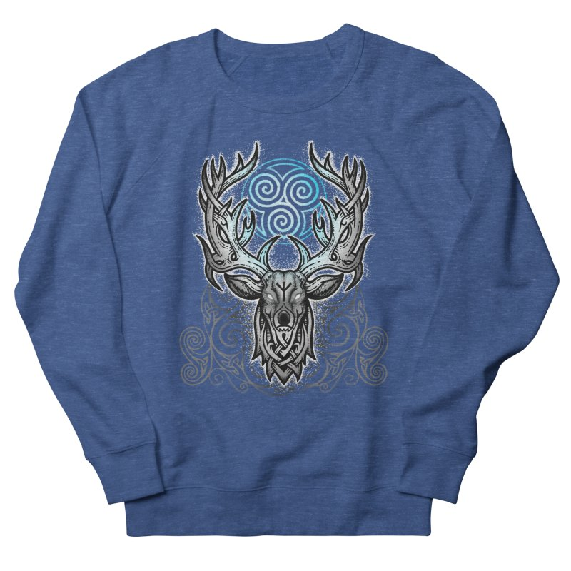 Legend of the White Stag Men's Sweatshirt by Celtic Hammer Club