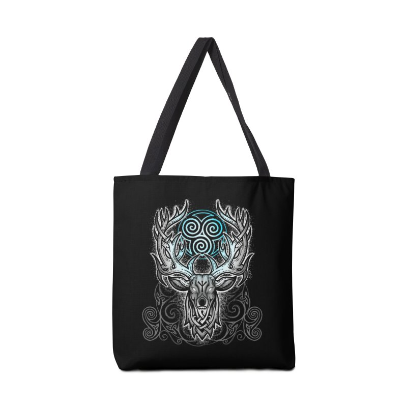 Legend of the White Stag Accessories Tote Bag Bag by Celtic Hammer Club