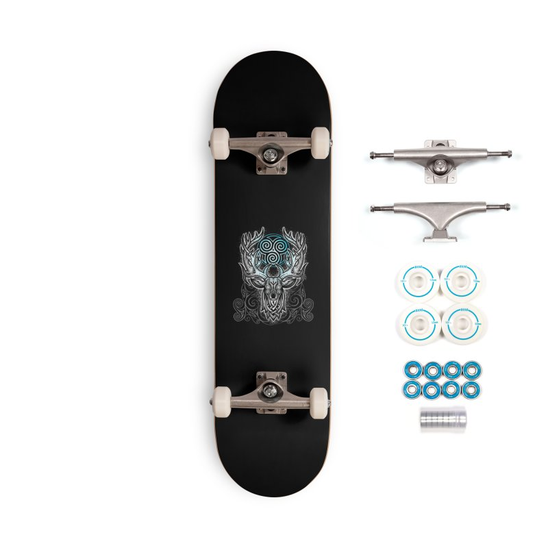 Legend of the White Stag Accessories Complete - Basic Skateboard by Celtic Hammer Club