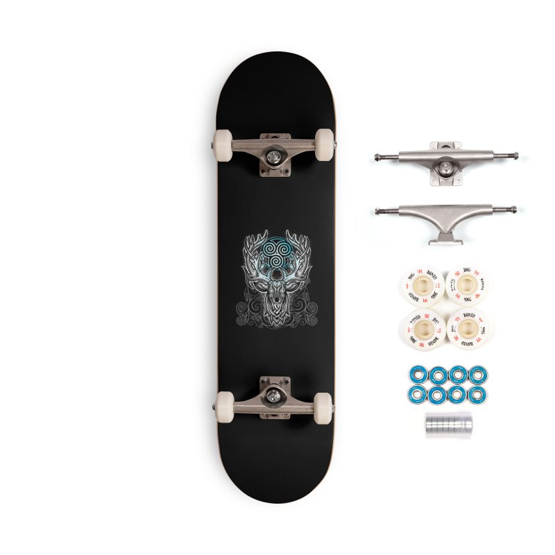 Legend of the White Stag Accessories Complete - Premium Skateboard by Celtic Hammer Club