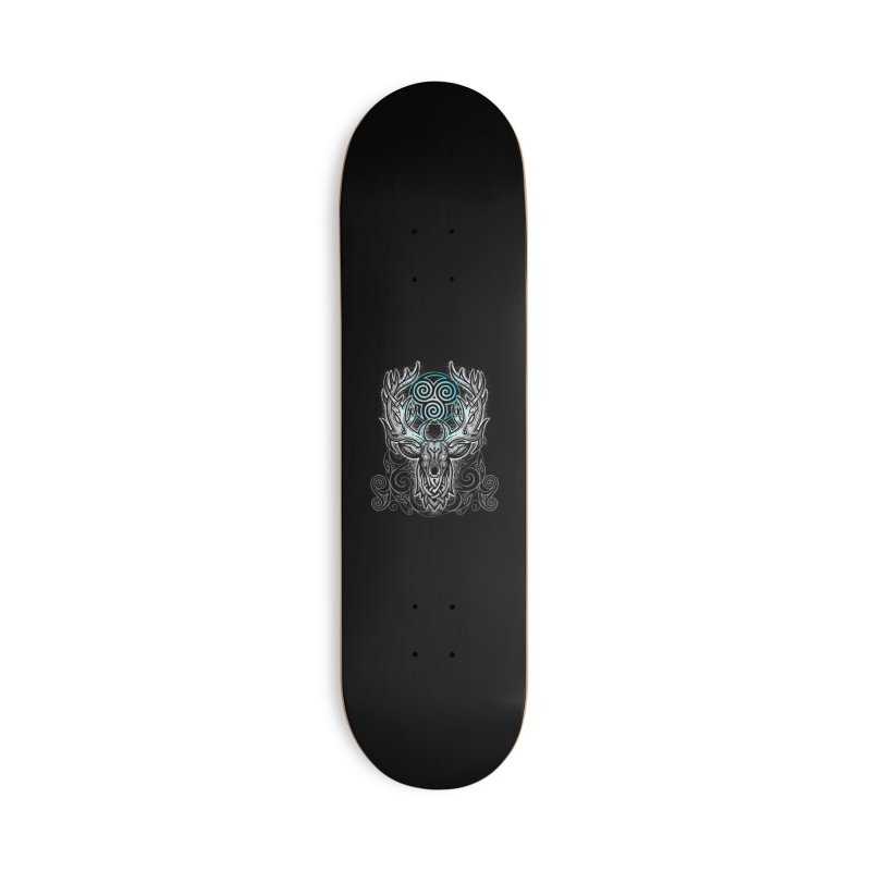 Legend of the White Stag Accessories Skateboard by Celtic Hammer Club