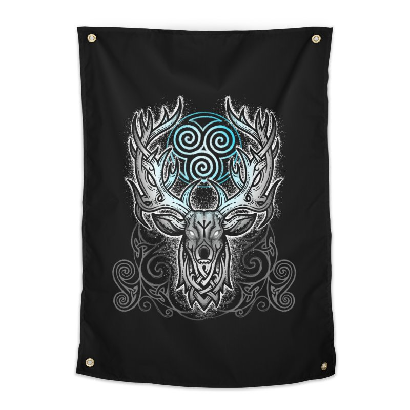 Legend of the White Stag Home Tapestry by Celtic Hammer Club