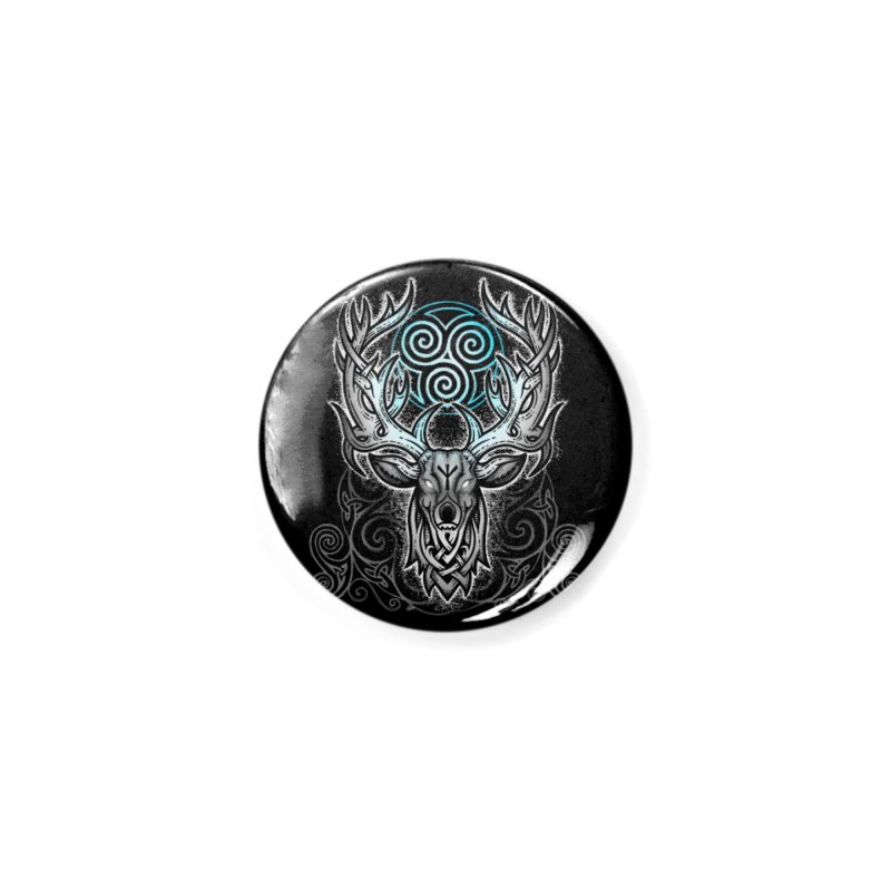 Legend of the White Stag Accessories Button by Celtic Hammer Club