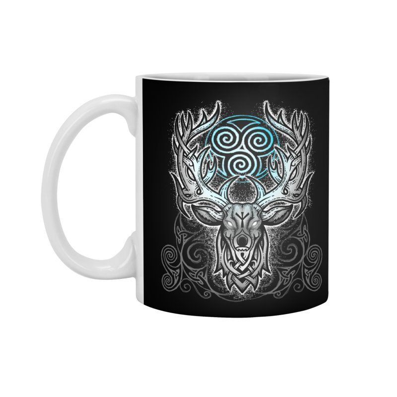 Legend of the White Stag Accessories Standard Mug by Celtic Hammer Club