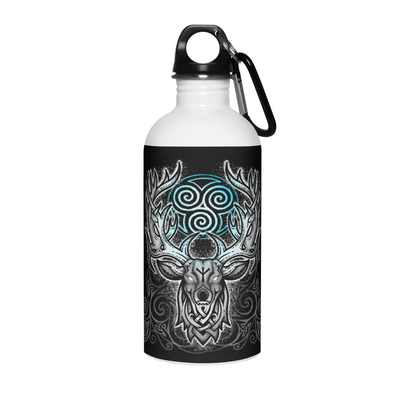 Legend of the White Stag Accessories Water Bottle by Celtic Hammer Club