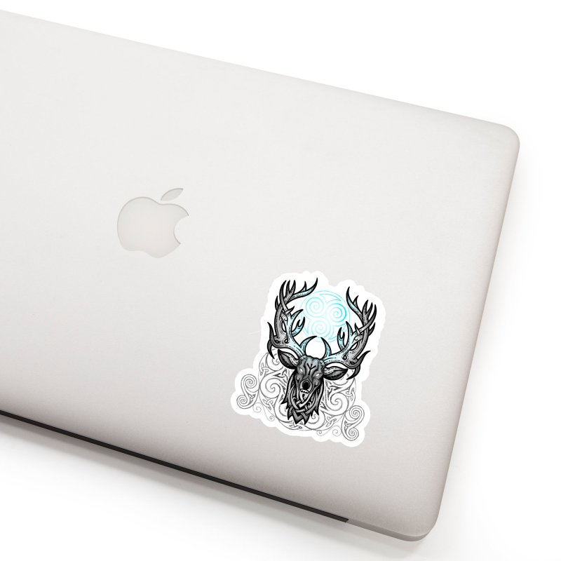 Legend of the White Stag Accessories Sticker by Celtic Hammer Club
