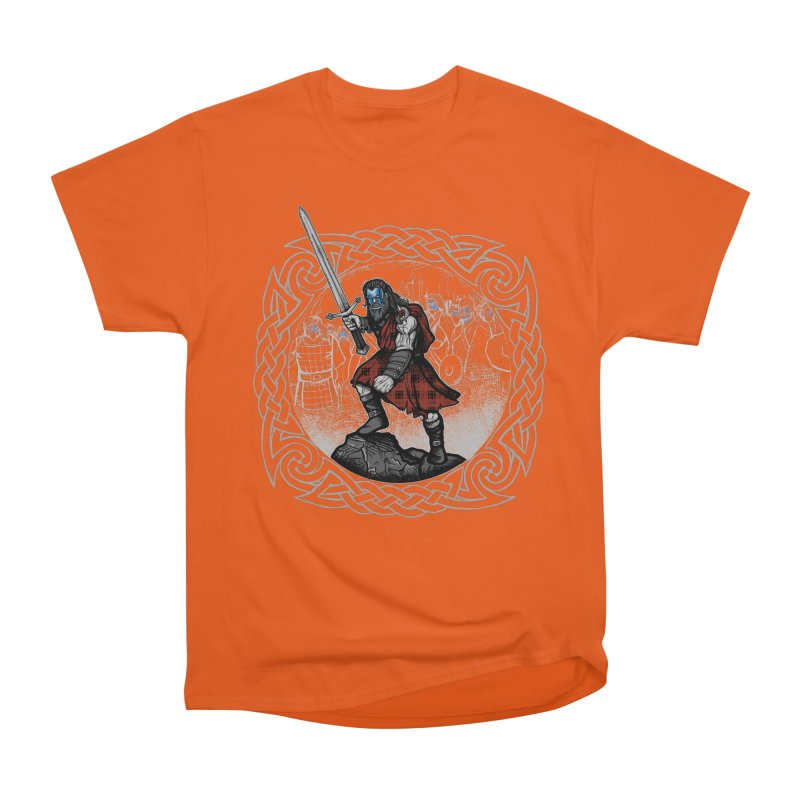 Highlander Charge Women's T-Shirt by Celtic Hammer Club