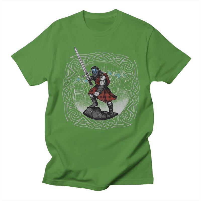 Highlander Charge Women's Regular Unisex T-Shirt by Celtic Hammer Club
