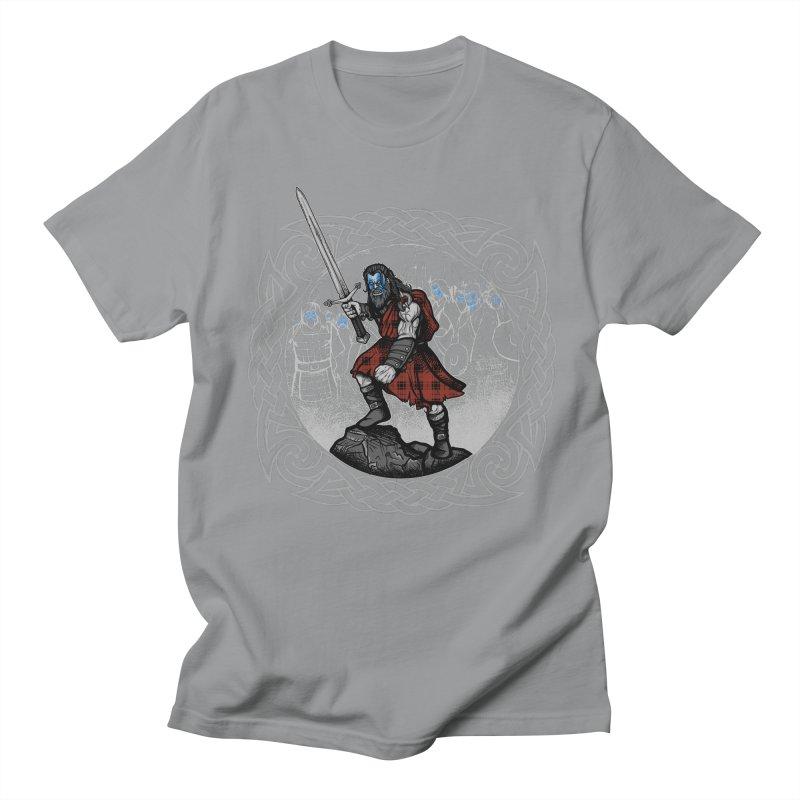 Highlander Charge Men's Regular T-Shirt by Celtic Hammer Club