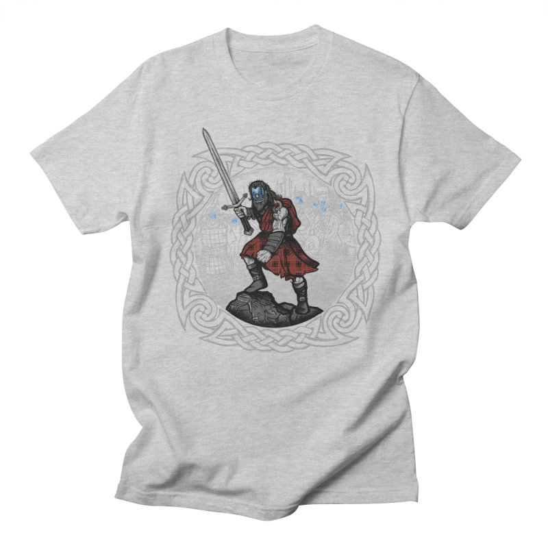 Highlander Charge Men's T-Shirt by Celtic Hammer Club