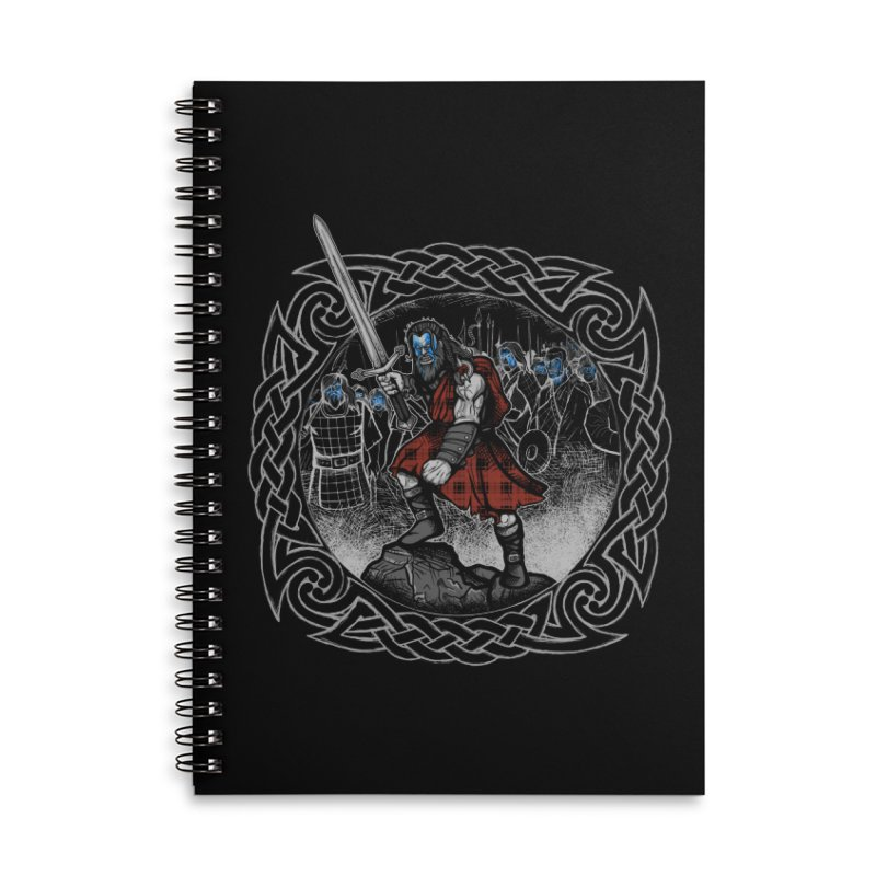 Highlander Charge Accessories Notebook by Celtic Hammer Club