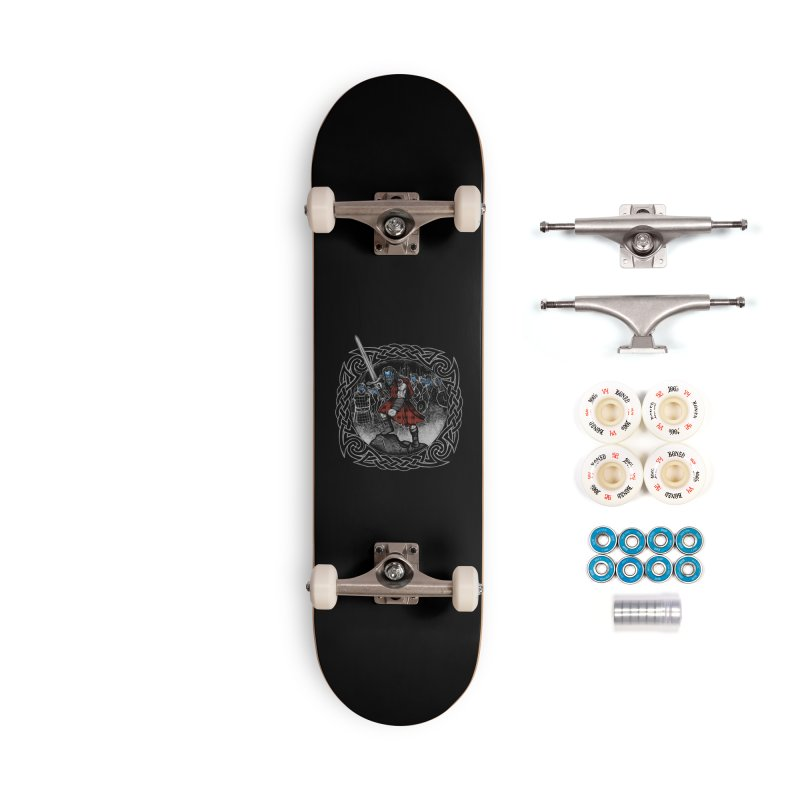 Highlander Charge Accessories Skateboard by Celtic Hammer Club