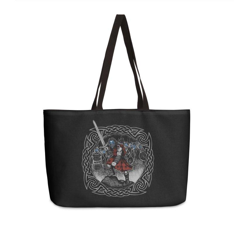 Highlander Charge Accessories Weekender Bag Bag by Celtic Hammer Club
