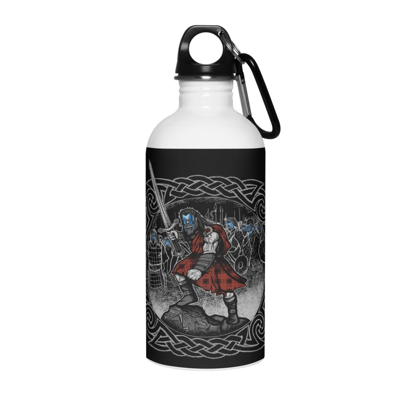 Highlander Charge Accessories Water Bottle by Celtic Hammer Club