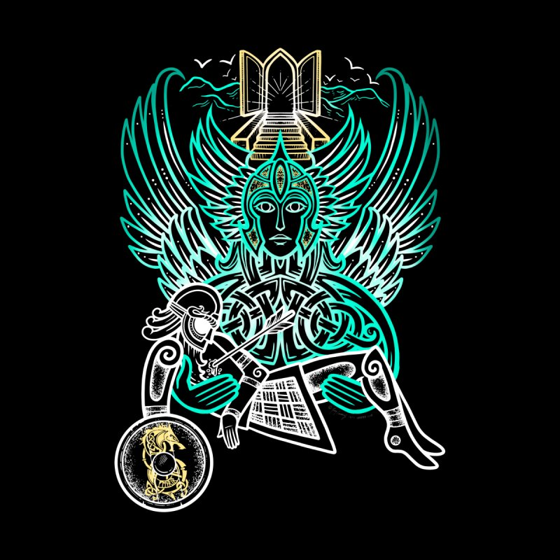 "Valkyrie, ""Chooser of the Slain"" Women's T-Shirt by Celtic Hammer Club"