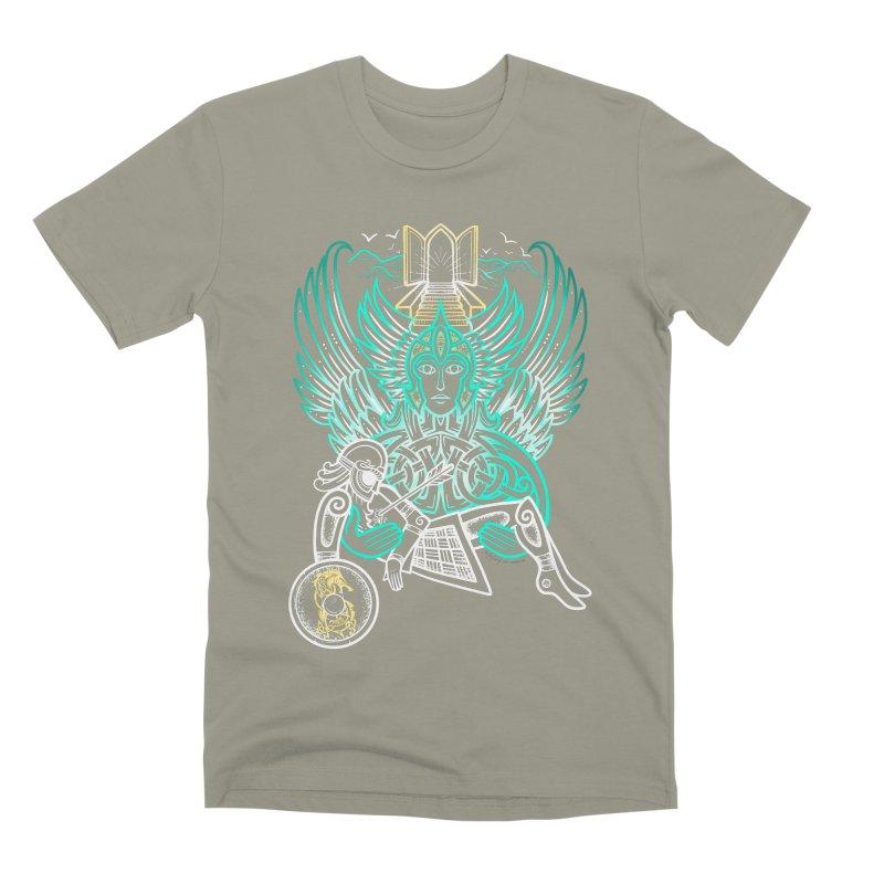 """Valkyrie, """"Chooser of the Slain"""" Men's Premium T-Shirt by Celtic Hammer Club"""