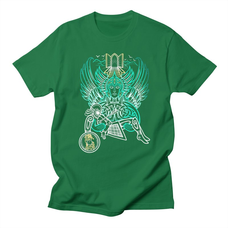 "Valkyrie, ""Chooser of the Slain"" Men's T-Shirt by Celtic Hammer Club"