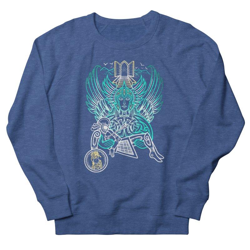 "Valkyrie, ""Chooser of the Slain"" Men's Sweatshirt by Celtic Hammer Club"