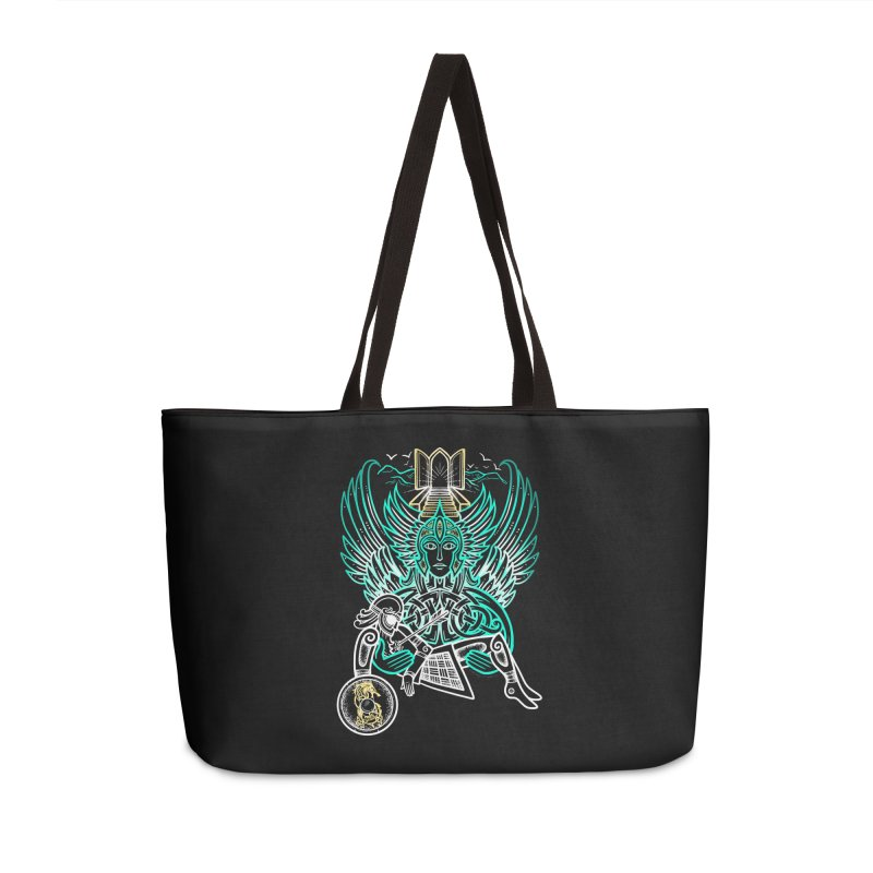 """Valkyrie, """"Chooser of the Slain"""" Accessories Bag by Celtic Hammer Club"""