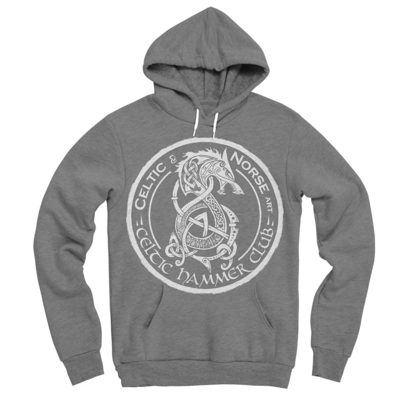 Celtic Hammer Club Badge Logo Men's Sponge Fleece Pullover Hoody by Celtic Hammer Club