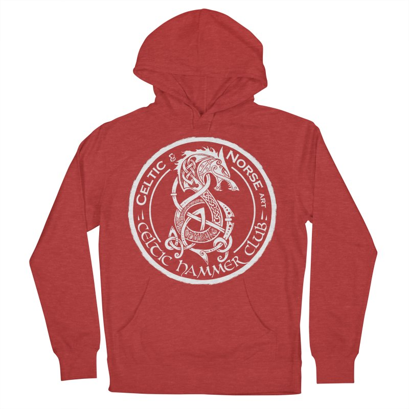 Celtic Hammer Club Badge Logo Women's French Terry Pullover Hoody by Celtic Hammer Club