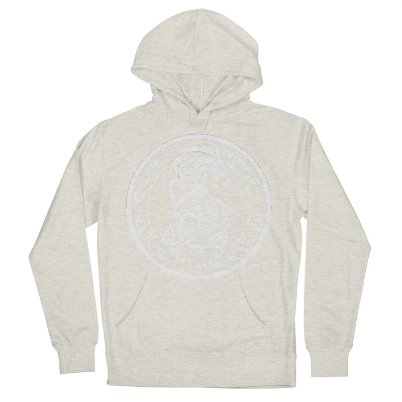 Celtic Hammer Club Badge Logo Men's French Terry Pullover Hoody by Celtic Hammer Club