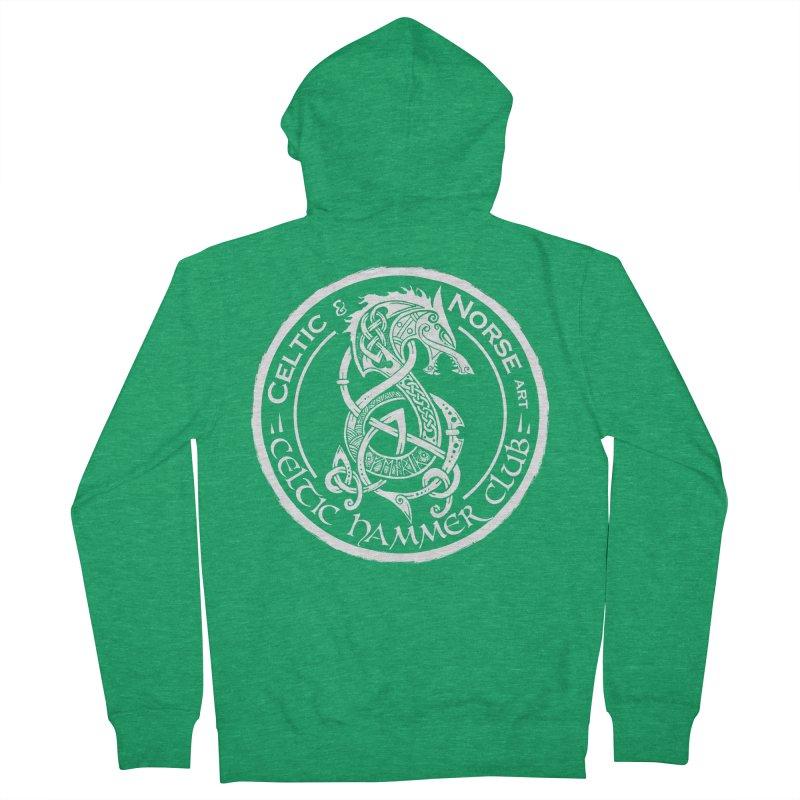 Celtic Hammer Club Badge Logo Men's Zip-Up Hoody by Celtic Hammer Club