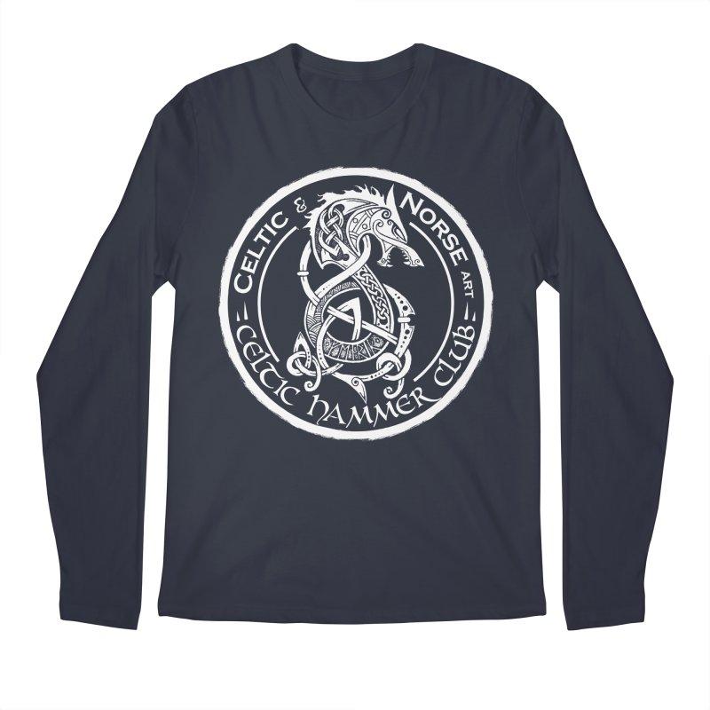 Celtic Hammer Club Badge Logo Men's Regular Longsleeve T-Shirt by Celtic Hammer Club