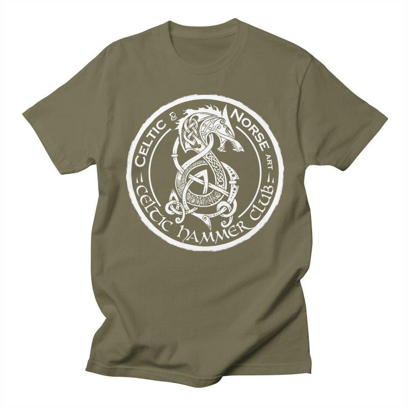 Celtic Hammer Club Badge Logo Men's T-Shirt by Celtic Hammer Club