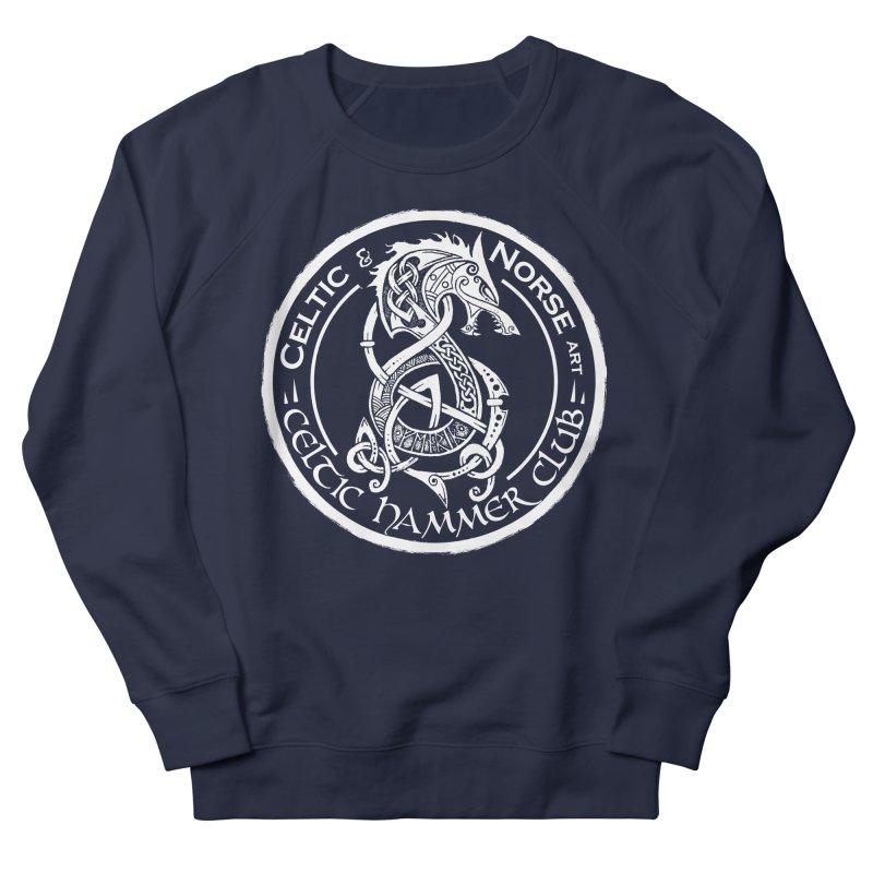 Celtic Hammer Club Badge Logo Women's French Terry Sweatshirt by Celtic Hammer Club