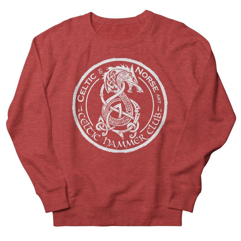 Celtic Hammer Club Badge Logo Men's French Terry Sweatshirt by Celtic Hammer Club