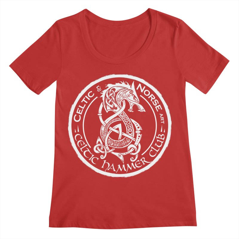 Celtic Hammer Club Badge Logo Women's Regular Scoop Neck by Celtic Hammer Club