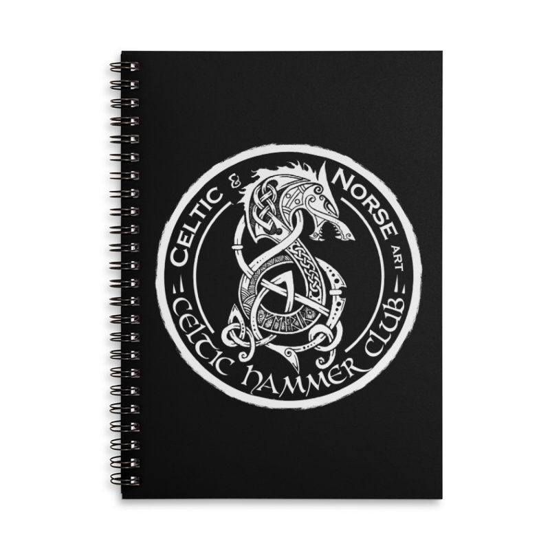 Celtic Hammer Club Badge Logo Accessories Notebook by Celtic Hammer Club