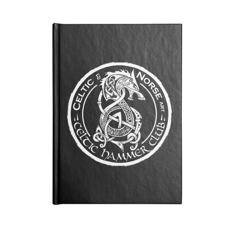 Celtic Hammer Club Badge Logo Accessories Blank Journal Notebook by Celtic Hammer Club