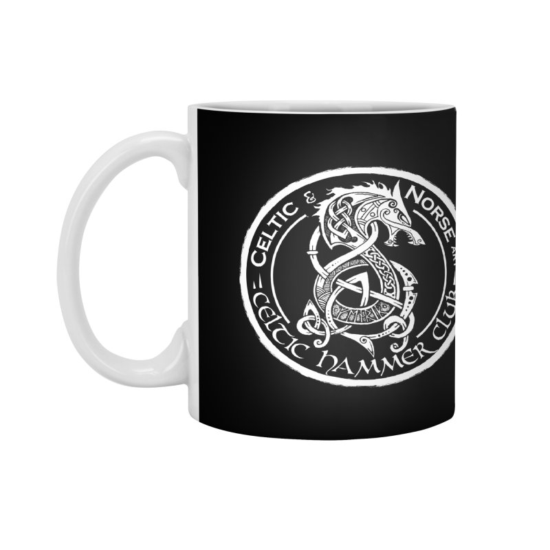 Celtic Hammer Club Badge Logo Accessories Mug by Celtic Hammer Club