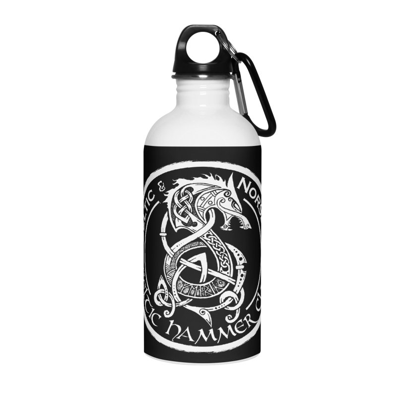 Celtic Hammer Club Badge Logo Accessories Water Bottle by Celtic Hammer Club