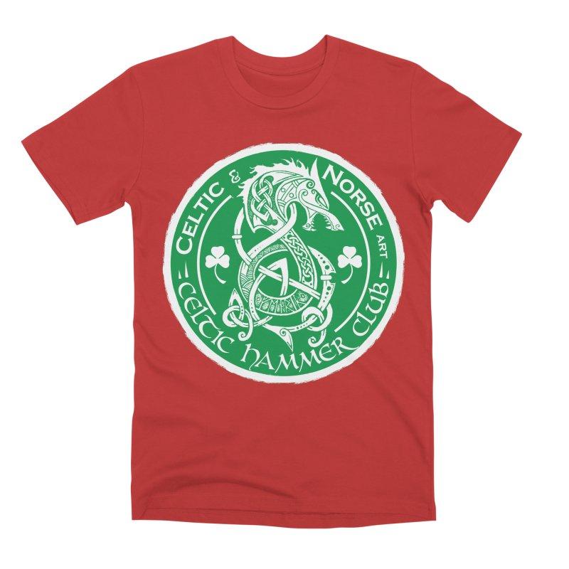 Celtic Hammer Club Irish Badge Logo Men's Premium T-Shirt by Celtic Hammer Club