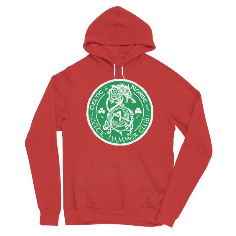 Celtic Hammer Club Irish Badge Logo Men's Pullover Hoody by Celtic Hammer Club