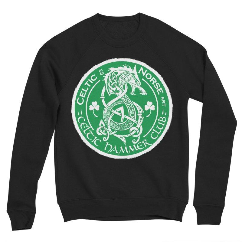 Celtic Hammer Club Irish Badge Logo Women's Sponge Fleece Sweatshirt by Celtic Hammer Club